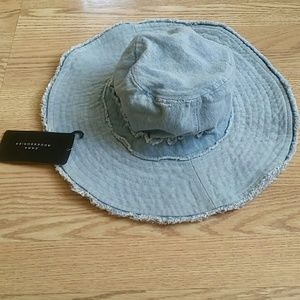 Zara  denim  hat
